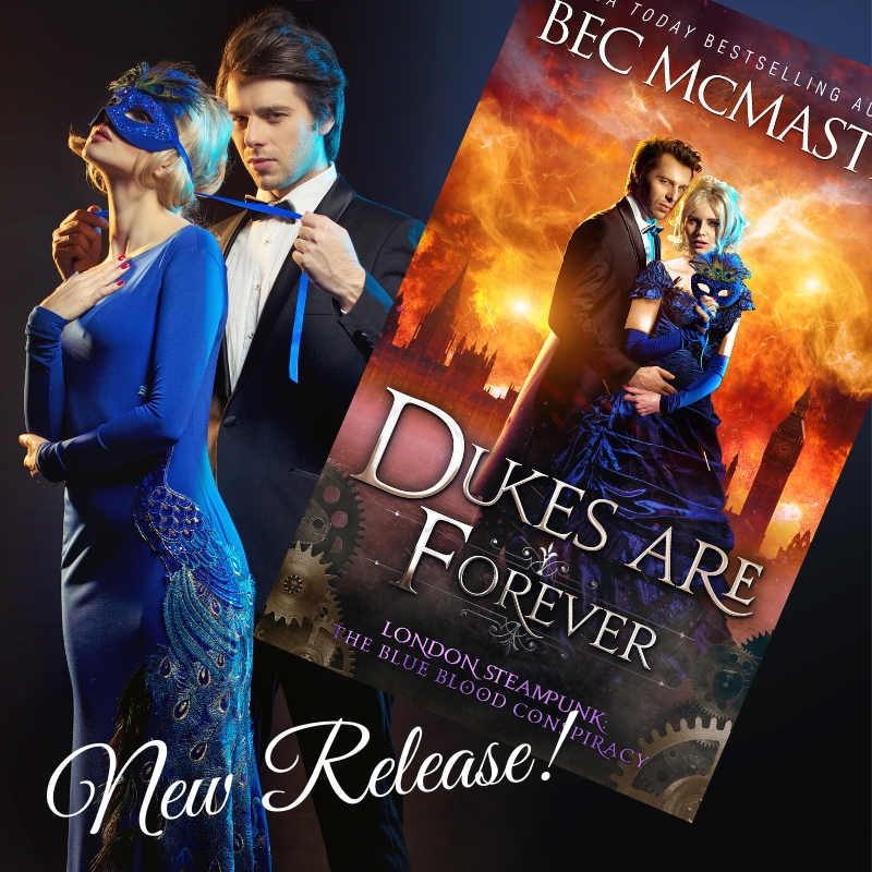 Bec McMaster | Author of Paranormal and Steampunk Romance